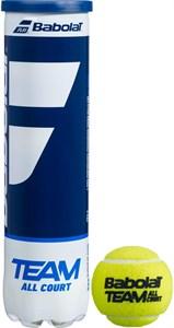Мячи теннисные Babolat Team All Court 4 Balls  502081