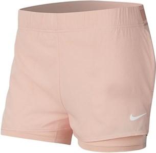 Шорты женские Nike Court Flex Washed Coral/White  939312-664  sp20