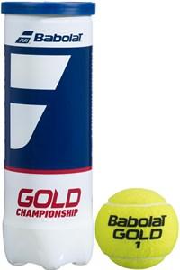 Мячи теннисные Babolat Gold Championship 3 Balls  501084