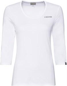 Футболка женская Head Club Tech 3/4 White  814359-WH  su20