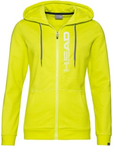 Кофта женская Head Club Greta FZ Yellow/White  814499-YWWH  su20