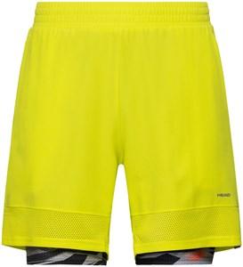 Шорты мужские Head Slider 7 Inch Yellow  811250-YWXI  su20