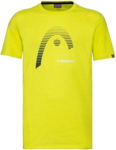 Футболка для мальчиков Head Club Carl Yellow  816509-YW  su20