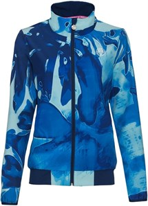 Куртка женская Bidi Badu Gene Tech Turquoise/Dark Blue  W194017201-TQDBL