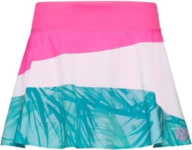 Юбка женская Bidi Badu Mora Tech Pink/White/Mint  W274026201-PKWHMT