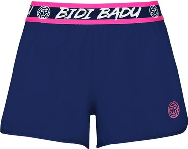 Шорты для девочек Bidi Badu Grey Tech (2 In 1) Dark Blue/Pink  G318009203-DBLPK
