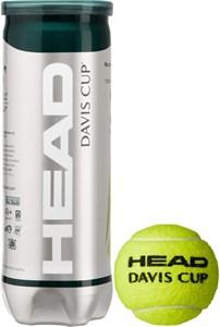 Мячи теннисные Head Davis Cup 3 Balls  571353