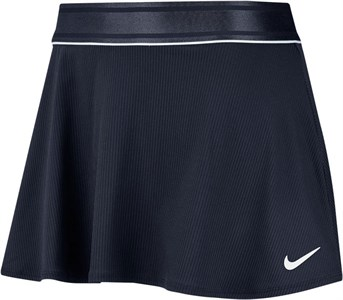 Юбка женская Nike Court Dry Flouncy Obsidian/White  939318-451  sp20