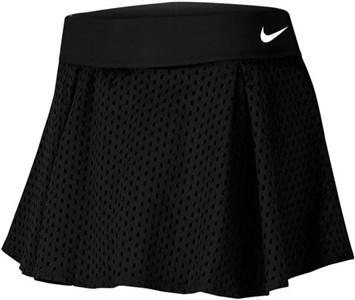 Юбка женская Nike Court Dry Flouncy Black/White  CK8397-010  su20