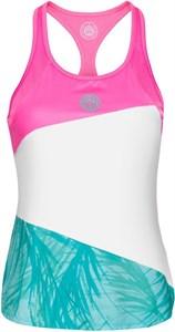 Майка для девочек Bidi Badu Isalie Tech Pink/White/Mint  G338005201-PKWHMT