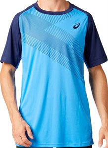 Футболка мужская Asics Club M Gpx Blue Coast  2041A085-400  su20
