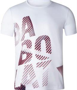 Футболка мужская Babolat Exercise Big White  4MTA017-1000