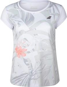 Футболка женская Babolat Exercise Graphic White  4WTA012-1000