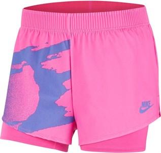 Шорты женские Nike Court Slam Pink Foil/Sapphire  CK8430-604  su20