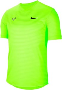 Футболка мужская Nike Court Rafa Challenger Volt/Black  CI9148-702  su20
