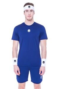 Футболка мужская Hydrogen Tech Blue Navy  T00251-013