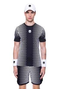 Футболка мужская Hydrogen Printed Tech Black/White  T00252-118