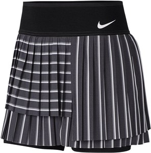 Юбка женская Nike Court Slam Black/Light Carbon/White  CI9401-015  fa20