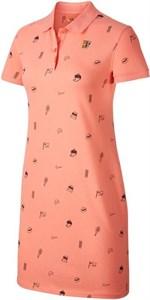 Платье женское Nike Polo Dress Sunblush  CT2943-655  fa20