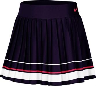 Юбка женская Nike Court Dry Maria Blackened Blue/White/Laser Crimson  CI9386-451  fa20