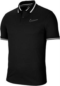 Поло мужское Nike Court Slam Black/White  CI9158-010  fa20
