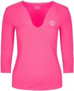 Футболка женская Bidi Badu Ariana Tech V-Neck LS Pink  W224013193-PK