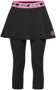 Юбка+капри женская Bidi Badu Faida Tech Dark Black/Pink  W274036193-BKPK