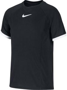 Футболка для мальчиков Nike Court Dry White/Black  CD6131-010