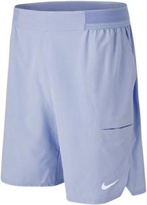 Шорты мужские Nike Court Advantage Flex 9 Inch Indigo Haze/White  CW5944-519  sp21
