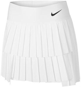 Юбка женская Nike Court Advantage Pleated White/Black  CV4678-100  sp21