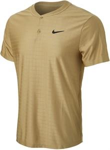 Поло мужское Nike Court Advantage Parachute Beige/Black  CV2499-297  sp21