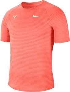 Футболка мужская Nike Court Rafa Aeroreact Bright Mango  CI9152-854  sp21