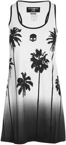 Платье женское Hydrogen Palm Tank White/Black  T01406-001