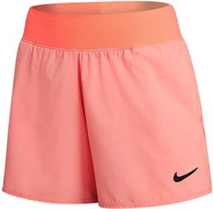 Шорты женские Nike Court Flex Victory 2 Inch Crimson Bliss/Black  CV4817-693  sp21