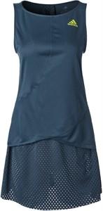 Платье женское Adidas HEAT.RDY Primeblue Crew Navy/Acid Yellow  GH7599  sp21