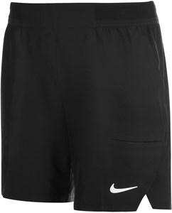 Шорты мужские Nike Court Flex Advantage 7 Inch Black/White  CV5046-010  sp21