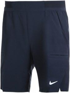 Шорты мужские Nike Court Advantage Flex 9 Inch Obsidian/White  CW5944-451  sp21