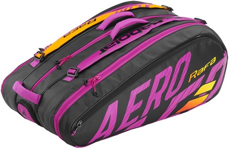 Сумка Babolat Pure Aero RAFA X12 Black/Orange/Purple  751215-363