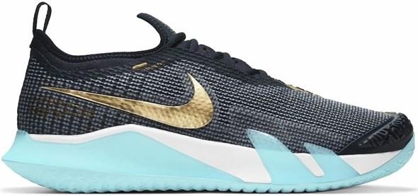 Кроссовки мужские Nike React Vapor NXT Dark Obsidian/Metallic Gold  CV0724-400  sp21