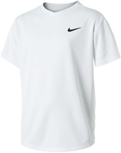 Футболка для мальчиков Nike Court Dry Victory White/Black  CV7565-100  sp21