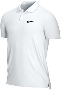 Поло мужское NikeCourt Dry Victory  White/Black  CW6849-100  sp21