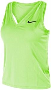 Майка женская Nike Court Victory Lime Glow/Black  CV4784-345  su21