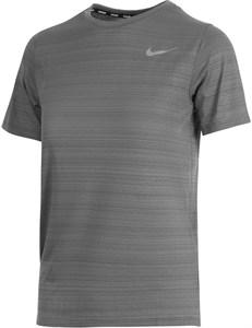 Футболка для мальчиков Nike Dri-Fit Miler Smoke Grey  DD3055-084  su21